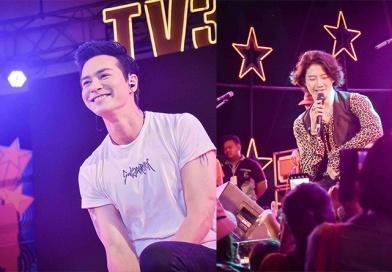 """""""ก๊อต-ริชชี่ นำทีมนักแสดงช่อง 3 สัญจร ราชบุรี"""""""